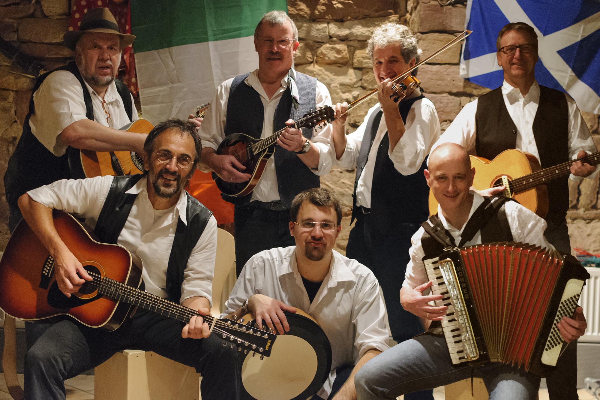 Folkowe mit den Irish Boys
