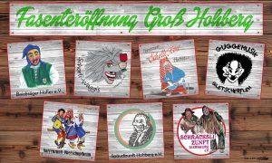Groß-Hohberger Fasenteröffnung @ Auberghalle, Oberschopfheim