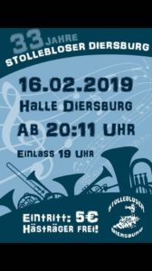 33 Jahre Stollebloser Diersburg @ Halle, Diersburg