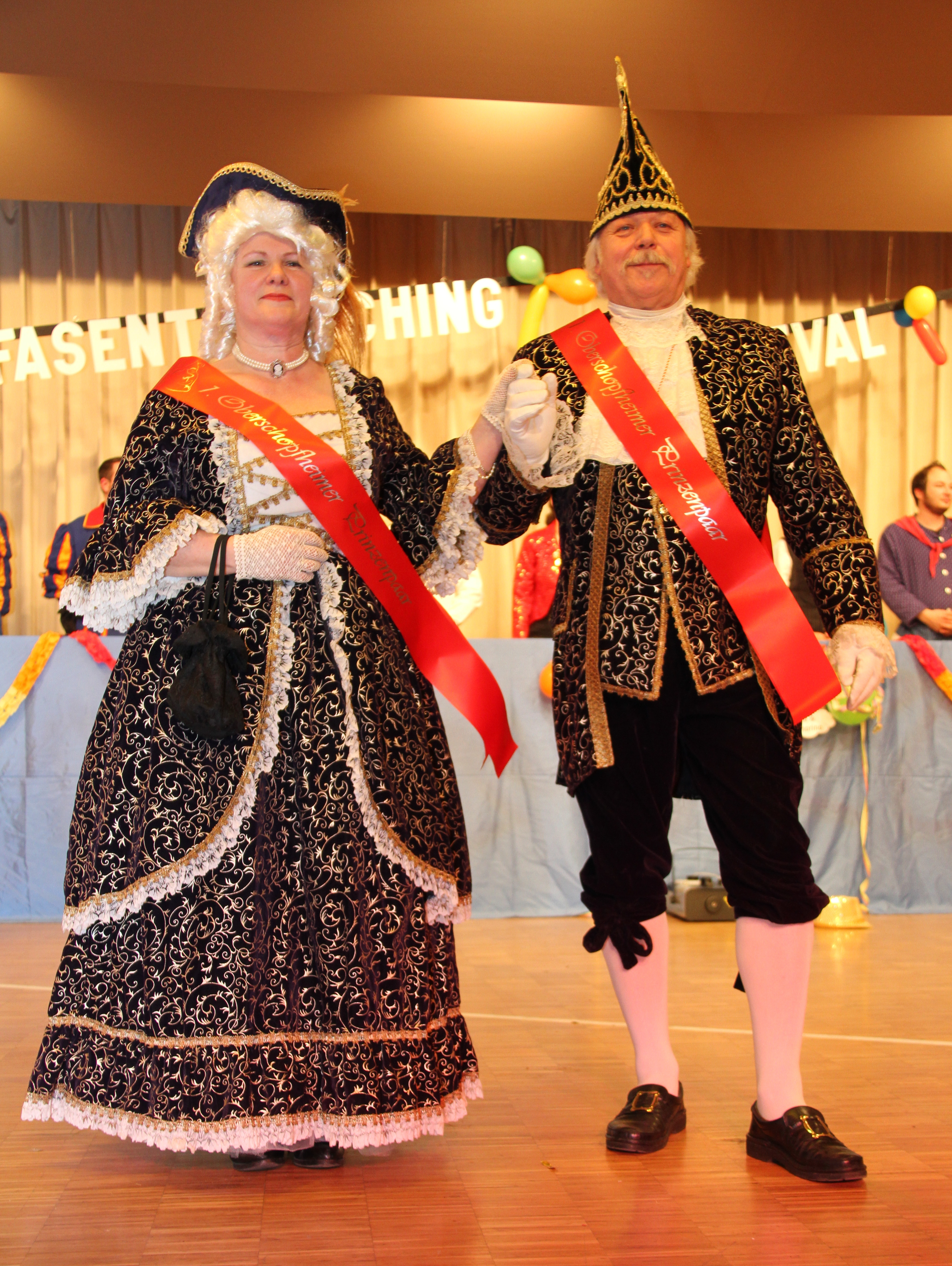 Erstes Prinzenpaar der Oberschopfener Fasent gewählt
