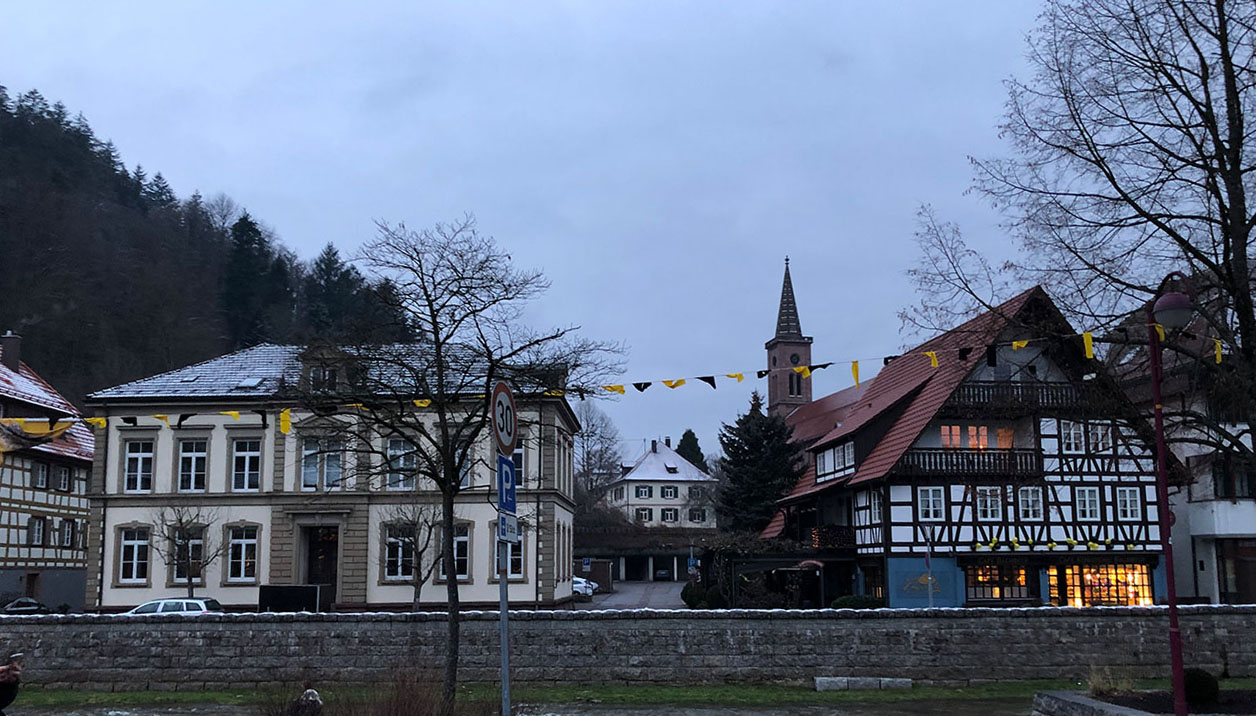 Erster Umzug in Schiltach